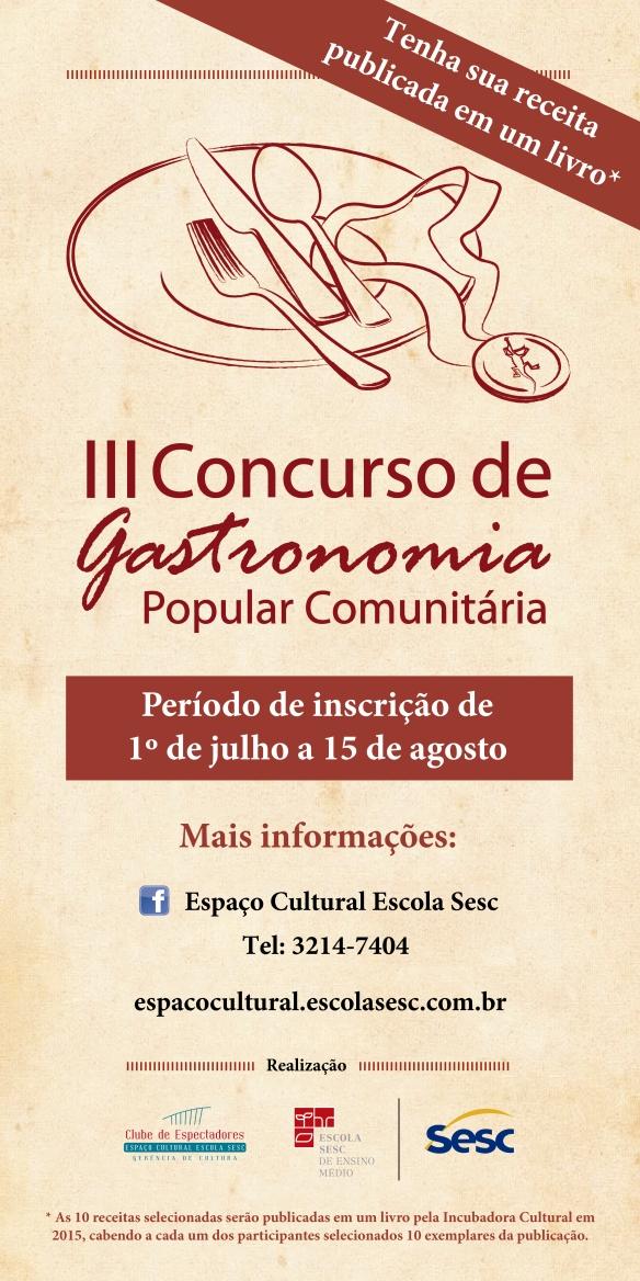 III Concurso de Gastronomia Popular